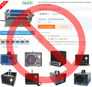 amazon ozone machines