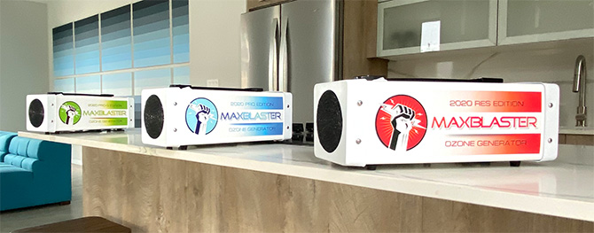maxblaster 2020 ozone generators for odor and mold removal