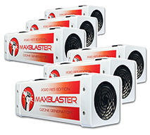 maxblaster res ozone generator for odor removal