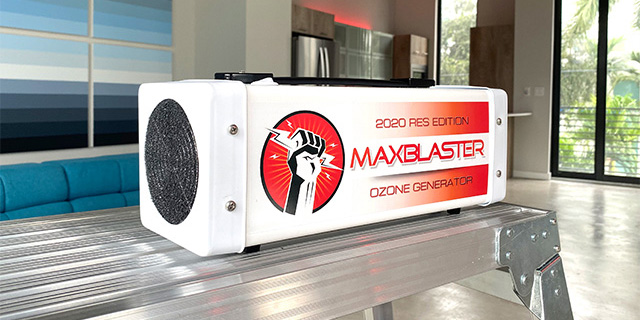 maxblaster 2020 res edition ozone generator for odor removal