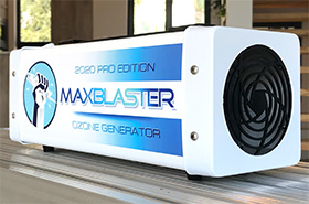 maxblaster pro edition april 2020 ozone generator for odor removal in homes and vehicles