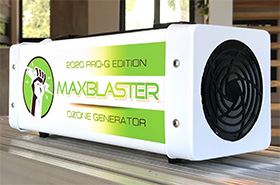 maxblaster 2020 ozone generator for odor removal in homes and vehicles