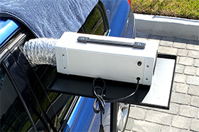 pro ozone generator for car odor